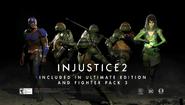 Injustice 2 - turtles title