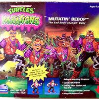 1992 ORIGINAL *** MUTATION BEBOP 1 *** TEENAGE MUTANT NINJA TURTLES TMNT