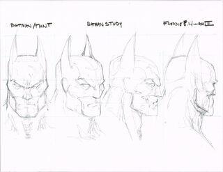 VRP BatmanHeadShape-Study