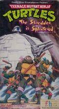 TMNT The Shredder is Splintered VHS