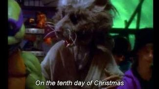 Splinter's 12 Days of Christmas (karaoke)