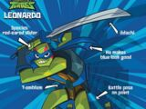 Leonardo (Rise of the TMNT)/Gallery