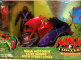 Mega Motorin' Elite Guard with Street Cycle (1997 toy)
