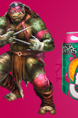 Raphael promotional drink artwork