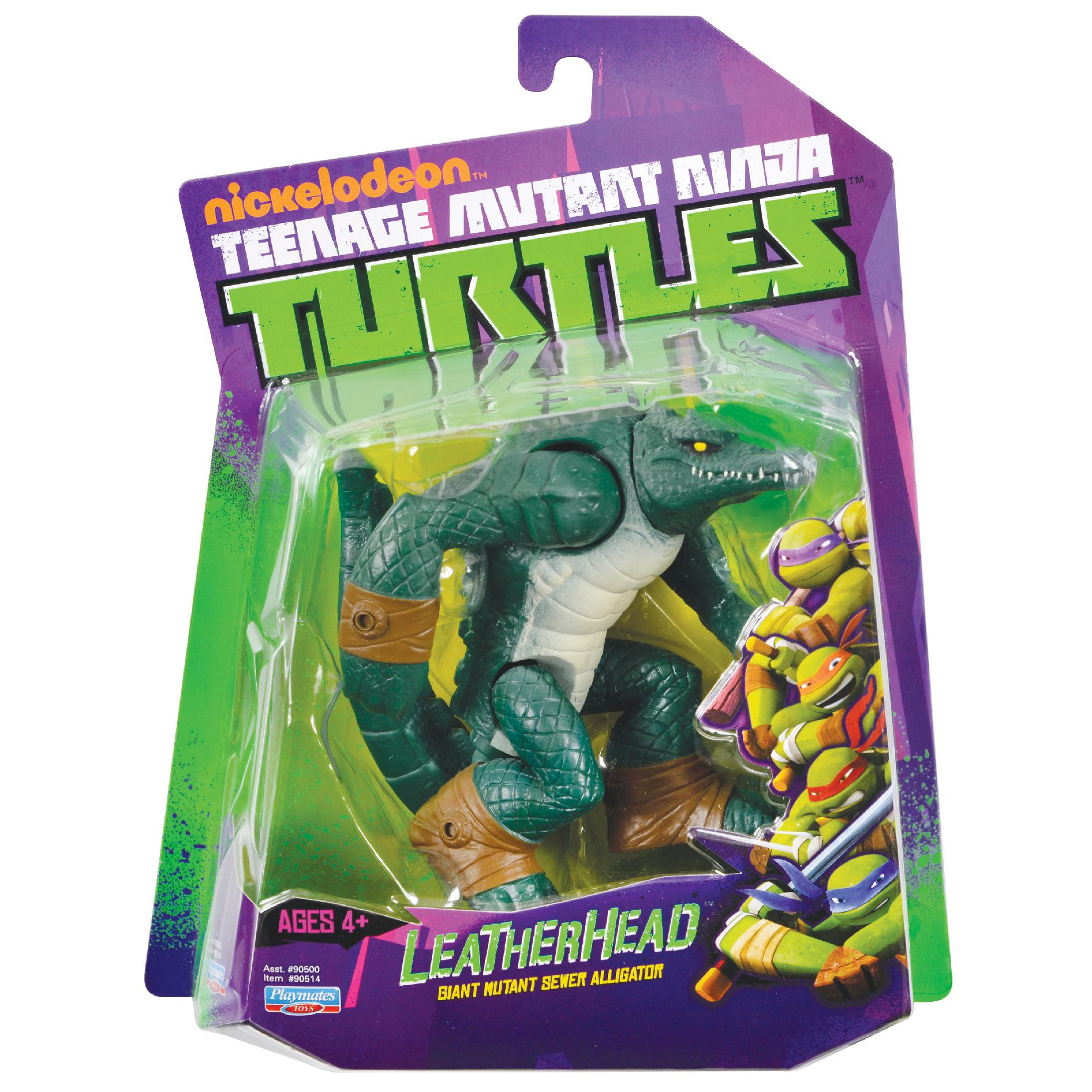 Teenage Mutant Ninja Turtles 2012 Neuralizer Toy : Leatherhead action figure tmntpedia fandom