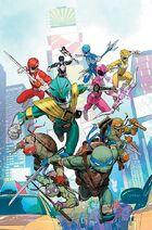 Power Rangers TMNT promo