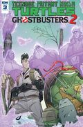 TMNT Ghostbusters 2 3 cover