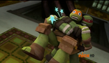 Mikey, Raph training5
