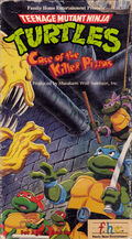 TMNT Case of the Killer Pizzas VHS