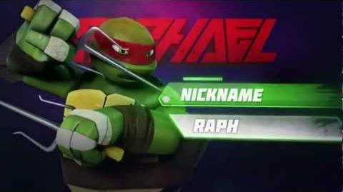 Meet Raphael TMNT 2012