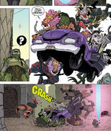 Bebop Rocksteady Slash crash