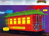 Turtles Movie Sewer Subway Car (unreleased toy)