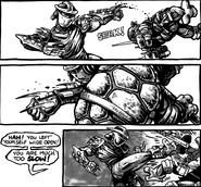 Shredder-m fight