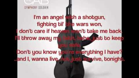 Angel With A Shotgun - The Cab (Lyric Video)-0