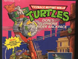 Don's Telephone Line Rider Backpack (1991 toy)