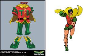 Robin suit