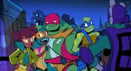 April and turtles rise tmnt by lullabystars-dchqqb2