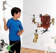 Nickelodeon-teenage-mutant-ninja-turtles-z-line-ninjas-playset-water-tower-washout-new-5