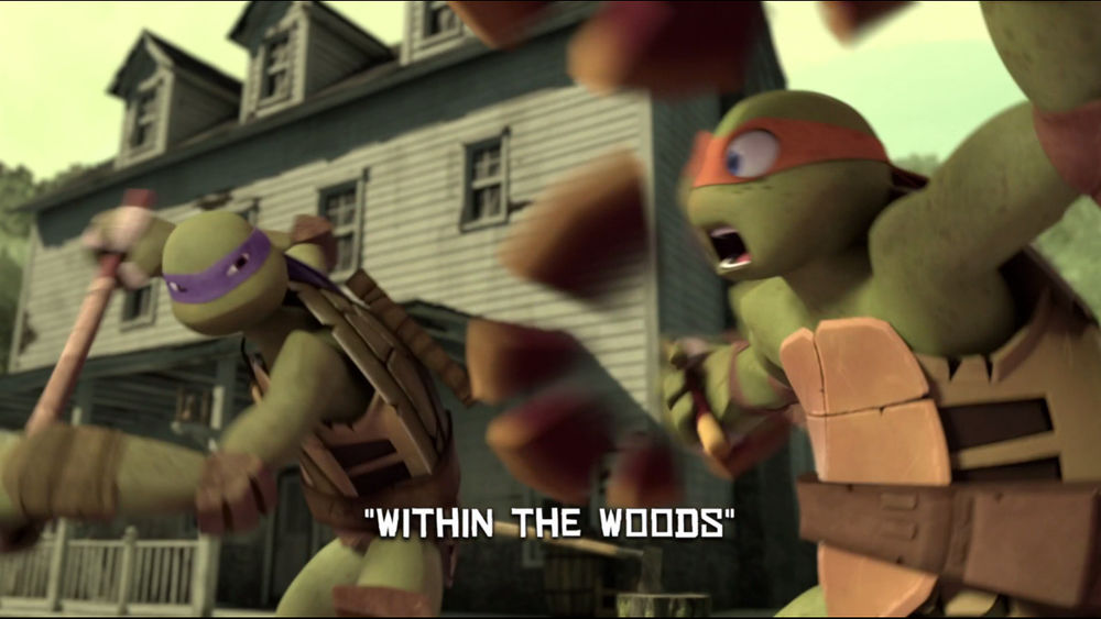 Within The Woods Tmntpedia Fandom Powered By Wikia