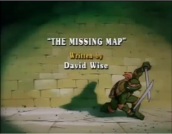 The Missing Map Title Card