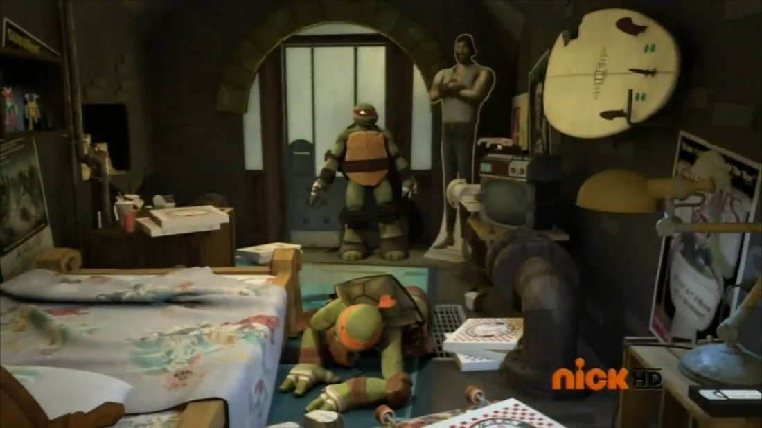 Michelangelo S Bedroom 2012 Tv Series Tmntpedia