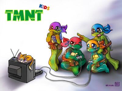 TMNT Kids by alisa006