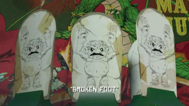 Broken Foot   TMNTPedia   FANDOM powered by Wikia