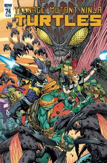 TMNT -74 Regular Cover by Cory Smith