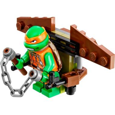 O/'Neil T97 Lego Minifigure Torso Teenage Mutant Ninja Turtles Mutated Dr