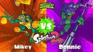 Mikey vs Donnie