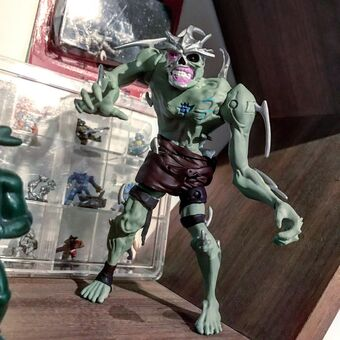 Undead Shredder Unreleased Action Figure Tmntpedia Fandom