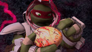 Raphael Holding An Egg