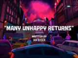 Many Unhappy Returns