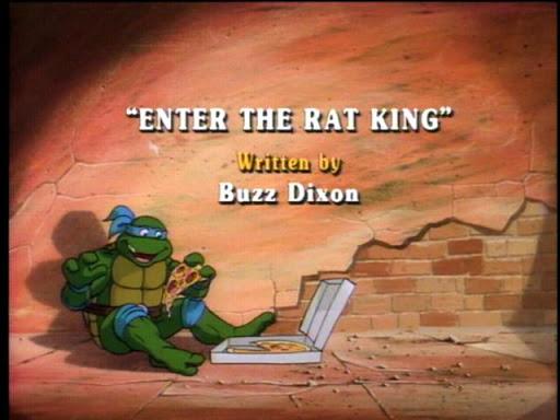 1989 ORIGINAL *** RAT KING *** TEENAGE MUTANT NINJA TURTLES TMNT