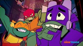 Rise of the Teenage Mutant Ninja Turtles New Episodes on Nicktoons 🐢 (Promo A) USA Oct. 2019
