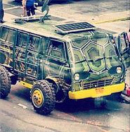 TMNT Van MichaelBay Movie