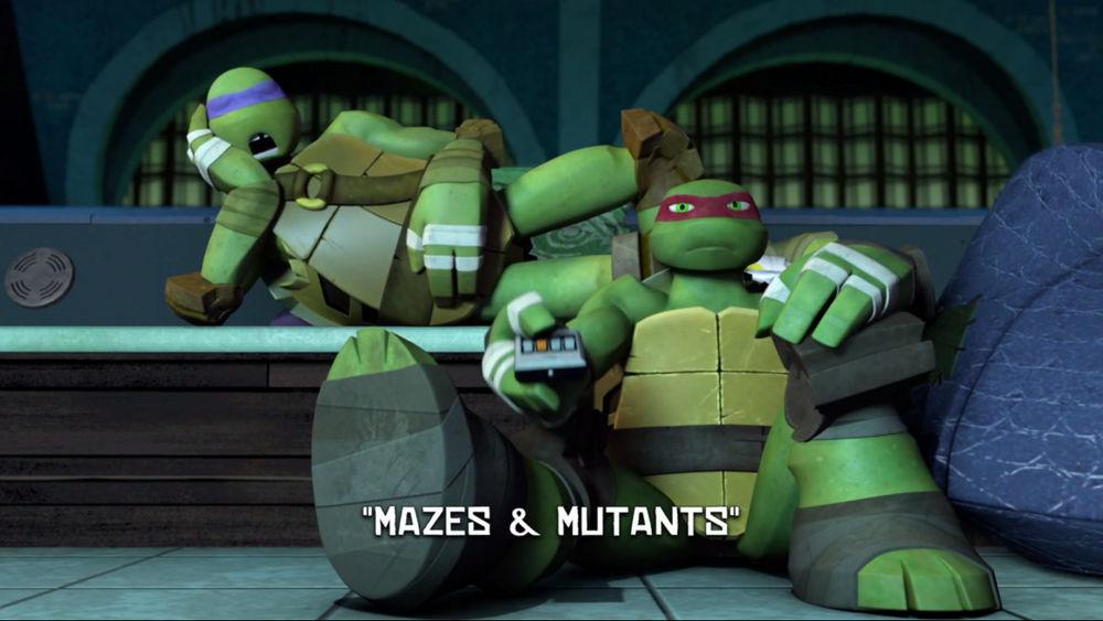 Mazes Mutants Tmntpedia Fandom Powered By Wikia