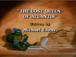 The Lost Queen of Atlantis Title Card