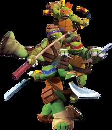 TMNT 2012 The Turtles