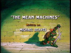 The Mean Machines 1