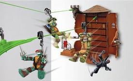 Nickelodeon-teenage-mutant-ninja-turtles-z-line-ninjas-playset-water-tower-washout-new-4