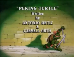 Peking Turtle Title Card