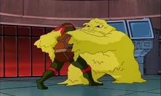 Mobster from dimension x 31 - raphael slimed
