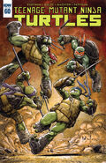 TMNT -60 Cover by Dave Wachter