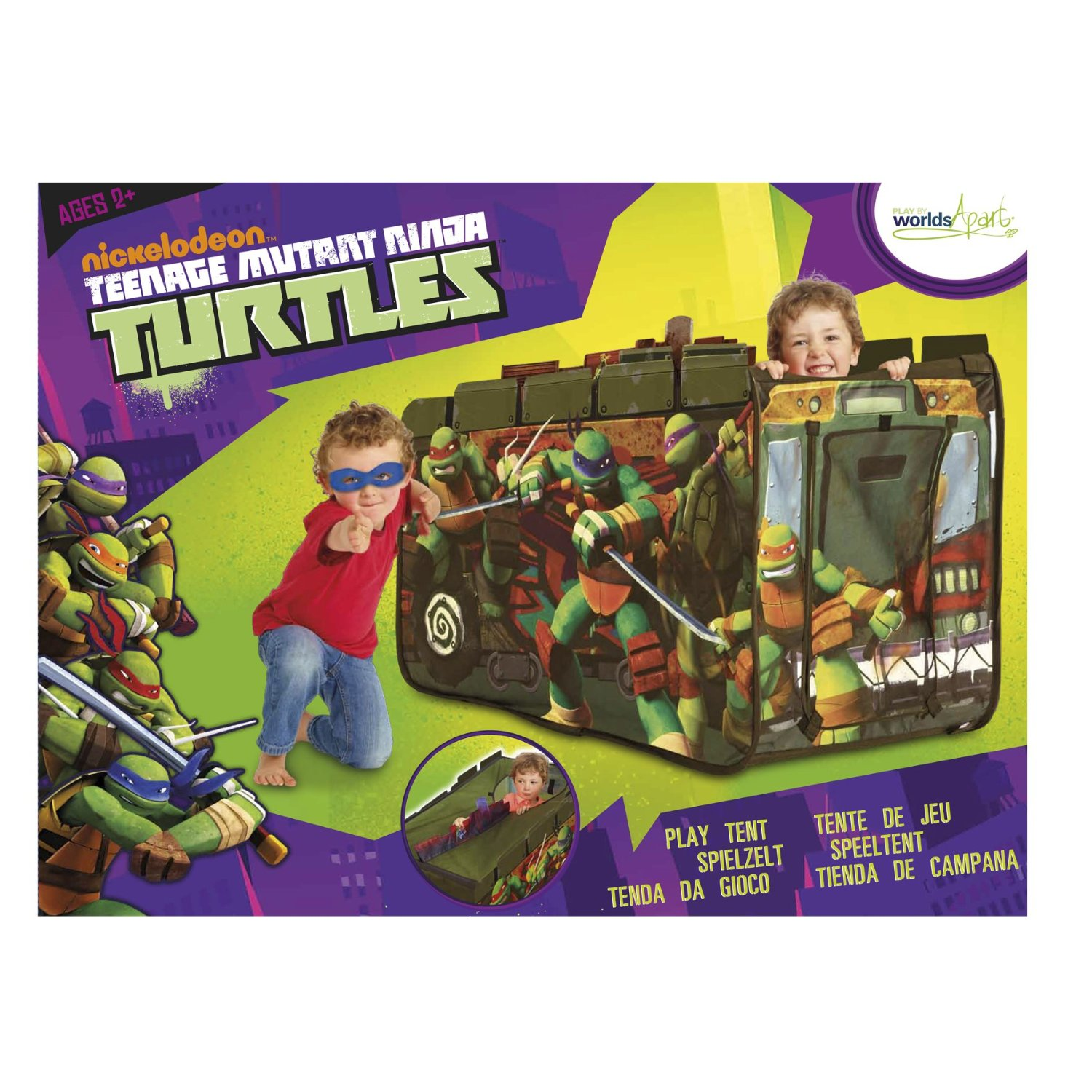 Battle Tank Feature Tent (2012 toy) | TMNTPedia | FANDOM powered by Wikia  sc 1 st  TMNTPedia - Fandom & Battle Tank Feature Tent (2012 toy) | TMNTPedia | FANDOM powered ...