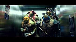 TMNT Movie - The Elevator Clip