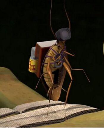 Cucaracha espia 000
