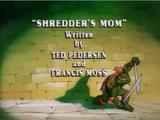 Shredder's Mom