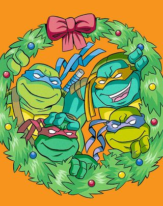 Christmas tmntpedia fandom powered by wikia christmas sciox Image collections