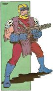 Trap (Archie) from TMNT Mutant Universe Soursebook Vol 1 2